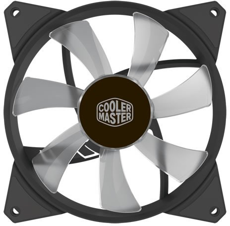 Кулер для корпуса 1 Ватт Cooler Master MF140R ARGB LED Fan, PWM / R4-140R-15PC-R1 /