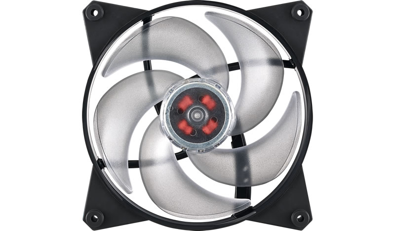 Кулер для корпуса 1 Ватт Cooler Master MasterFan Pro 140 Air Pressure, 140mm, 4-Pin (PWM), RGB / MFY-P4DN-15NPC-R1 / 10pcs 4 pin rgb 5pin rgbw connector adapter pin needle male type double for rgb rgbw 5050 3528 led strip light led accessories