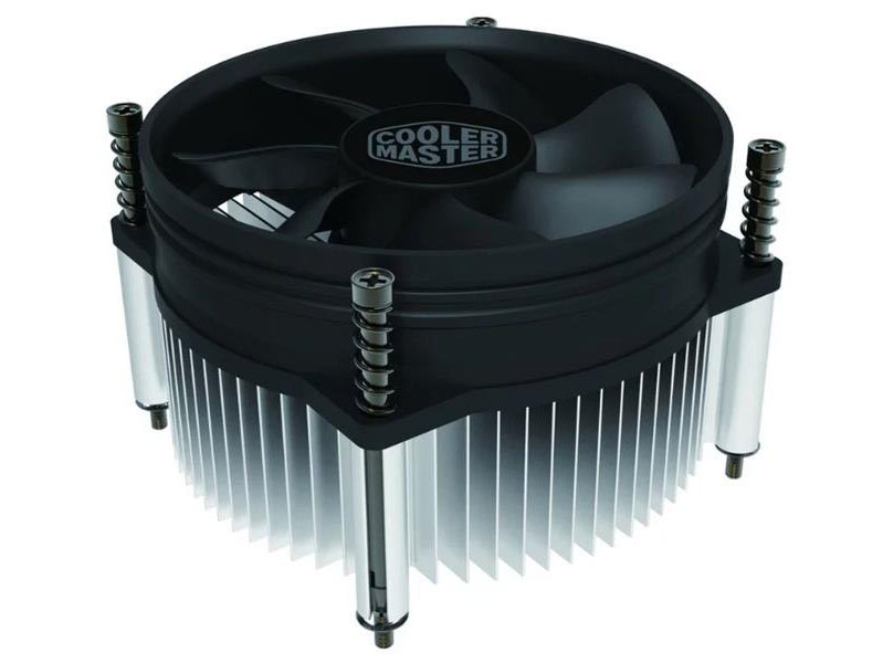 Кулер Cooler Master CPU Cooler I50 PWM, Intel 115*, 84W, Al, 4pin / RH-I50-20PK-R1 / 4pin mgt8012yr w20 graphics card fan vga cooler for xfx gts250 gs 250x ydf5 gts260 video card cooling