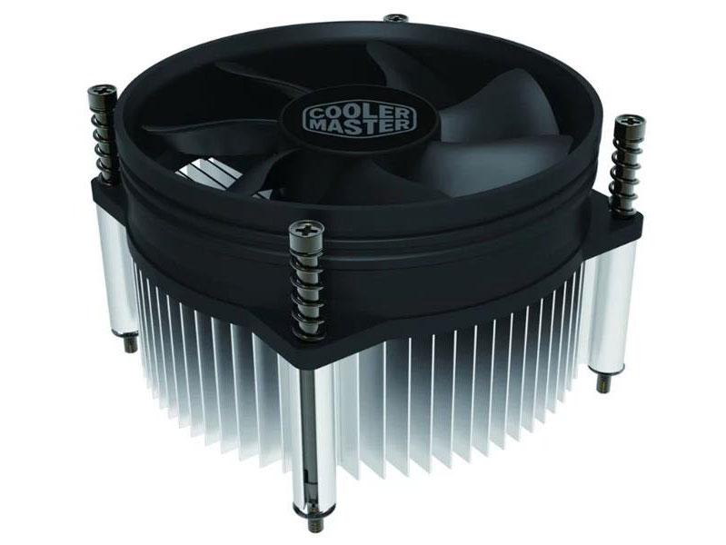 Кулер Cooler Master CPU Cooler I50 PWM, Intel 115*, 84W, Al, 4pin / RH-I50-20PK-R1 / cooler master cpu cooler rr i70 20fk r1 intel 115 95w al 3pin