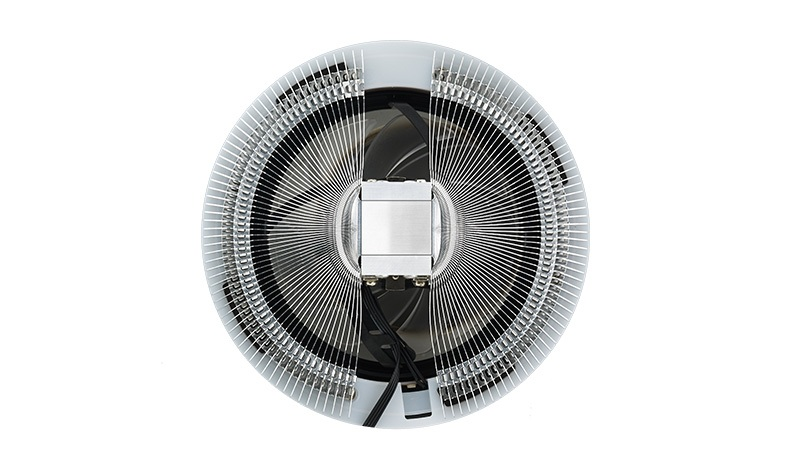 Кулер Cooler Master CPU Cooler MasterAir G100L, 130W, Whire LED fan, Full Socket Support / MAL-G1SN-924PW-R1 / universal silver 30 row transmission 10an oil cooler kit 7 inch electric fan