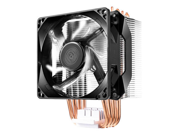 Кулер для процессора Cooler Master CPU Cooler Hyper H411R, RPM, White LED fan, 100W (up to 120W), Full Socket Support / RR-H411-20PW-R1 / cooler for cpu arctic cooling freezer 33 tr white acfre00039a 2066 2011v3 am4