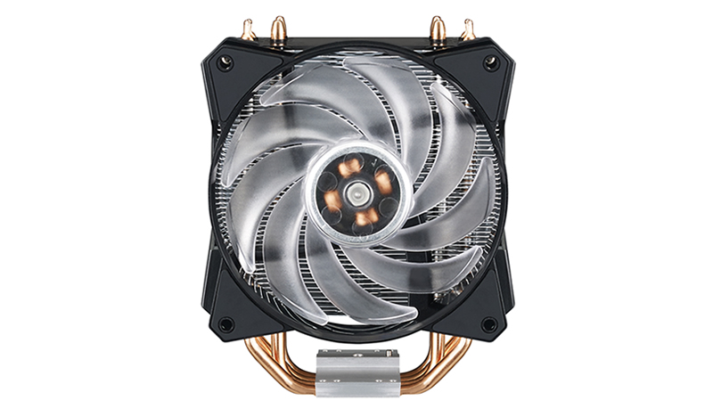 Кулер для процессора Cooler Master CPU Cooler MasterAir MA410P, 130W (up to 150W), RGB, Full Socket Support / MAP-T4PN-220PC-R1 / dc dc boost converter 10v 32v to 12v 35v step up power supply module 150w 10a