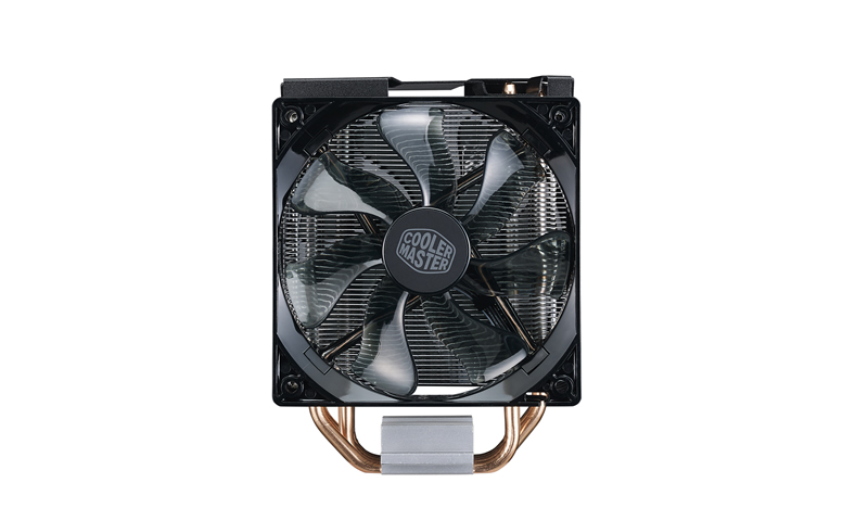 Кулер для процессора Cooler Master CPU Cooler Hyper 212 Turbo Red LED, 600 - 1600 RPM, 150W, Full Socket Support / RR-212TR-16PR-R1 / цена и фото