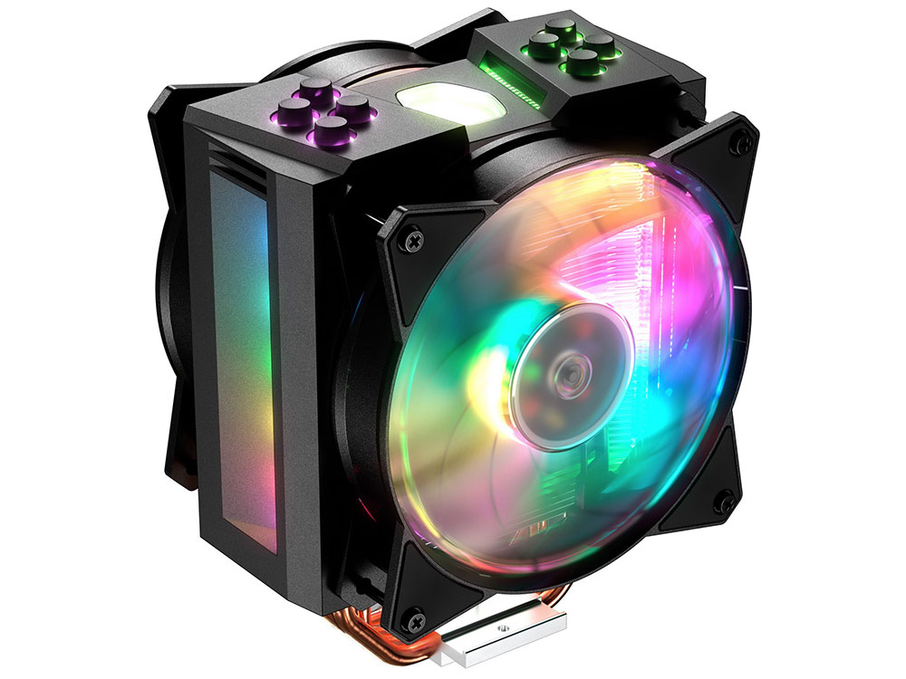 Кулер Cooler Master CPU Cooler MasterAir MA410M, 600-1800 RPM, 150W, addressable RGB, lighting controller, Full Socket Support / MAM-T4PN-218PC-R1 /
