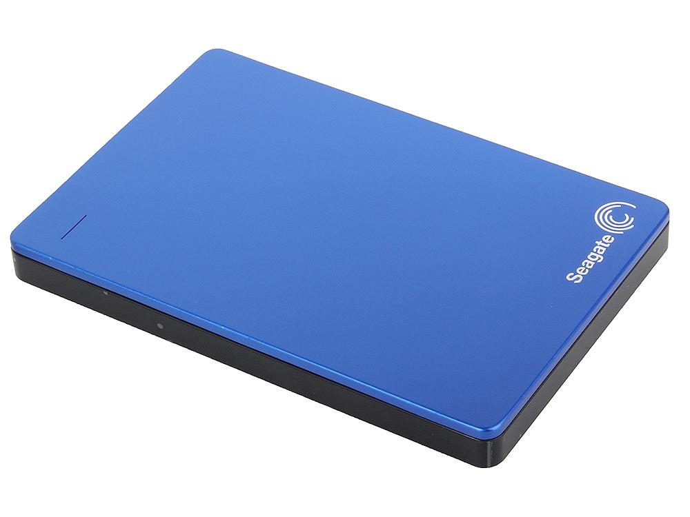 цена на Внешний жесткий диск Seagate Backup Plus Slim 1Tb Blue (STDR10002020)