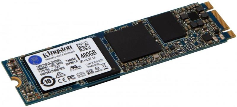 SSD Твердотельный накопитель M.2 480 Gb Kingston M.2 SATA G2 SSD Read 550Mb/s Write 520Mb/s SATAIII твердотельный накопитель ssd m 2 250gb western digital blue read 550mb s write 525mb s sataiii wds250g2b0b