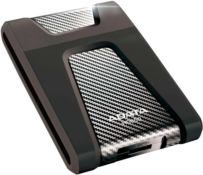 """Картинка для """"Внешний жесткий диск 2.5"""""""" USB3.0 1Tb A-Data AHD650-1TU3-CBK черный"""""""