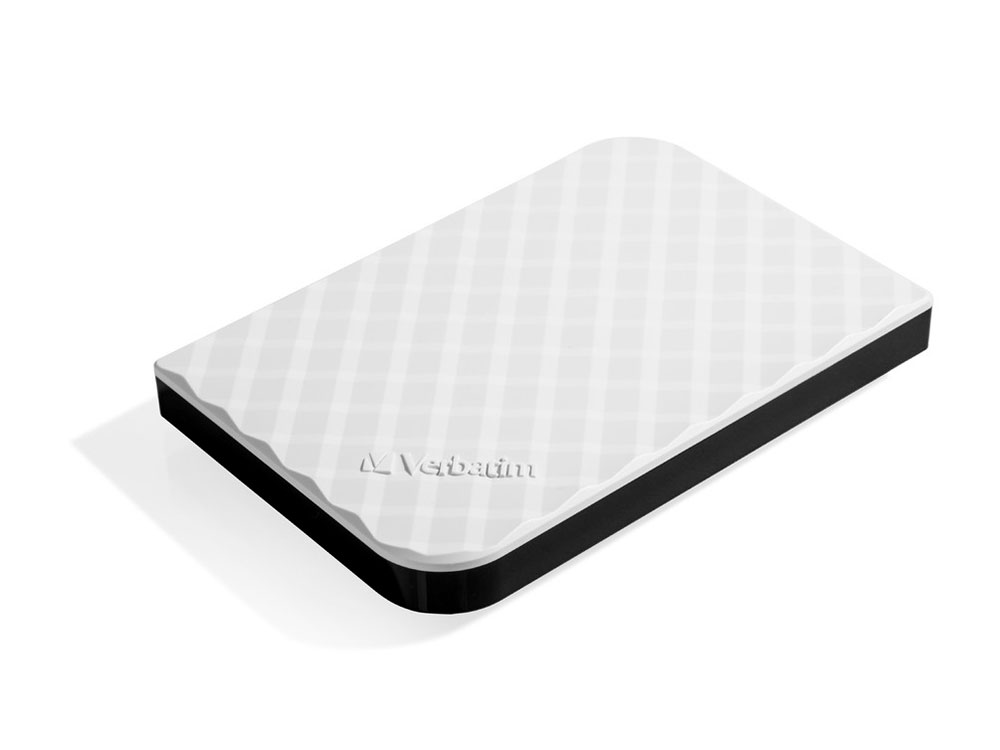 Внешний жесткий диск 2.5 USB3.0 1Tb Verbatim Store n Go белый 53206 внешний жесткий диск 2 5 usb3 0 1tb verbatim store n go черный 53023
