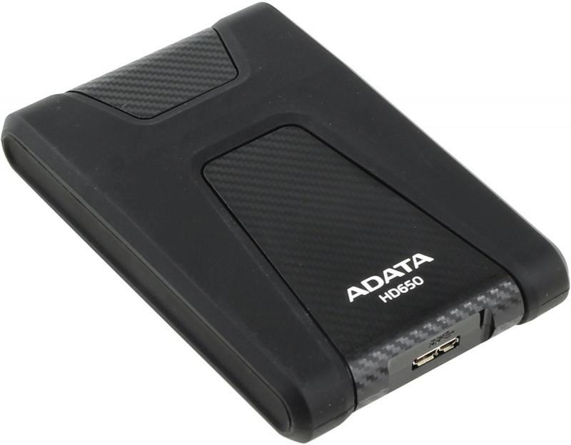 """Картинка для """"Внешний жесткий диск 2.5"""""""" USB3.0 2Tb A-Data AHD650-2TU3-CBK черный"""""""