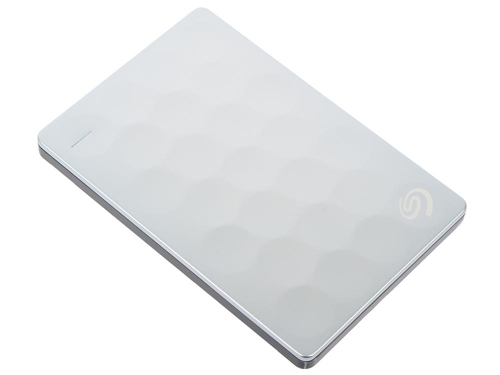 Фото - Внешний жесткий диск Seagate Backup Plus Ultra Slim 2Tb Silver (STEH2000200) seagate backup plus core 2tb 20 летие gold edition usb3 0 2 5 дюймовый жесткий диск stdr2000307