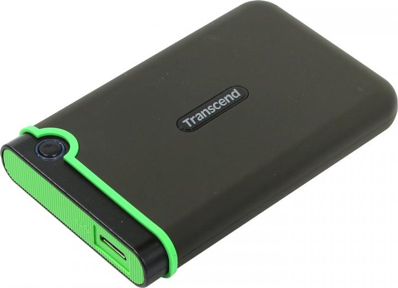 Внешний жесткий диск Transcend StoreJet 25MC 1Tb Grey (TS1TSJ25MC)