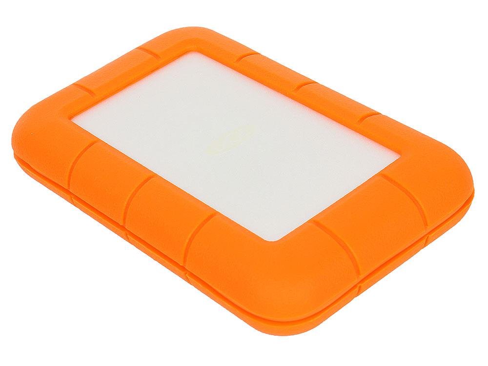 Внешний жесткий диск 2.5 USB3.0 Thunderbolt 1Tb Lacie STEV1000400 оранжевый внешний жесткий диск 2 5 usb3 0 1tb lacie mirror 9000574 серебристый
