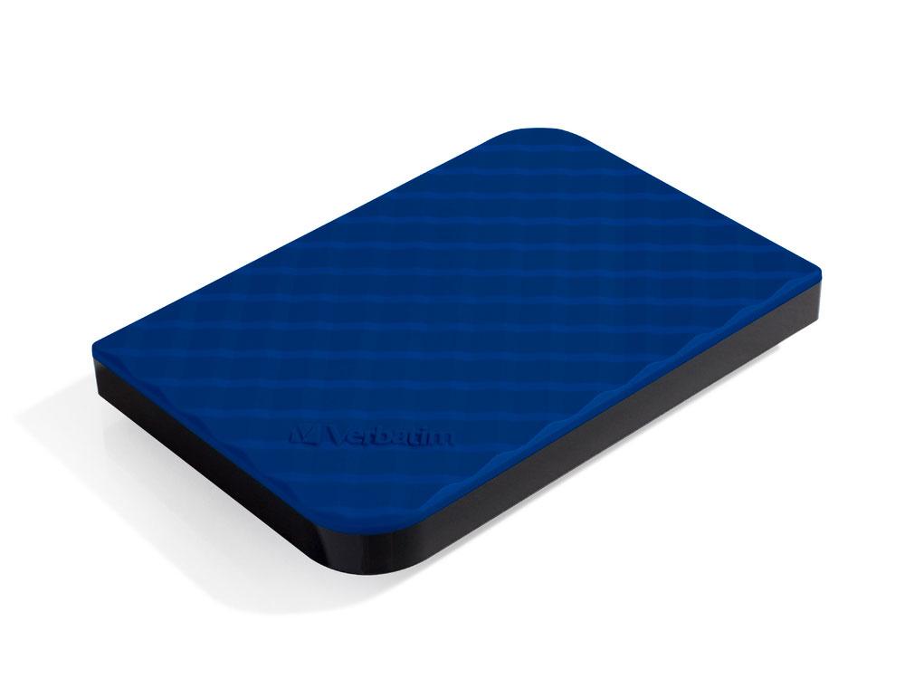Внешний жесткий диск 2.5 USB3.0 1Tb Verbatim Store n Go синий 53200 внешний жесткий диск 2 5 usb3 0 1tb verbatim store n go черный 53023