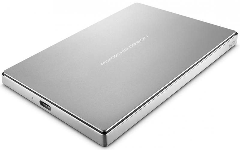 Внешний жесткий диск 2.5 USB3.1 1Tb Lacie Porsche Design Mobile Drive STFD1000400 внешний жесткий диск lacie stfd4000400 4тб porsche design stfd4000400