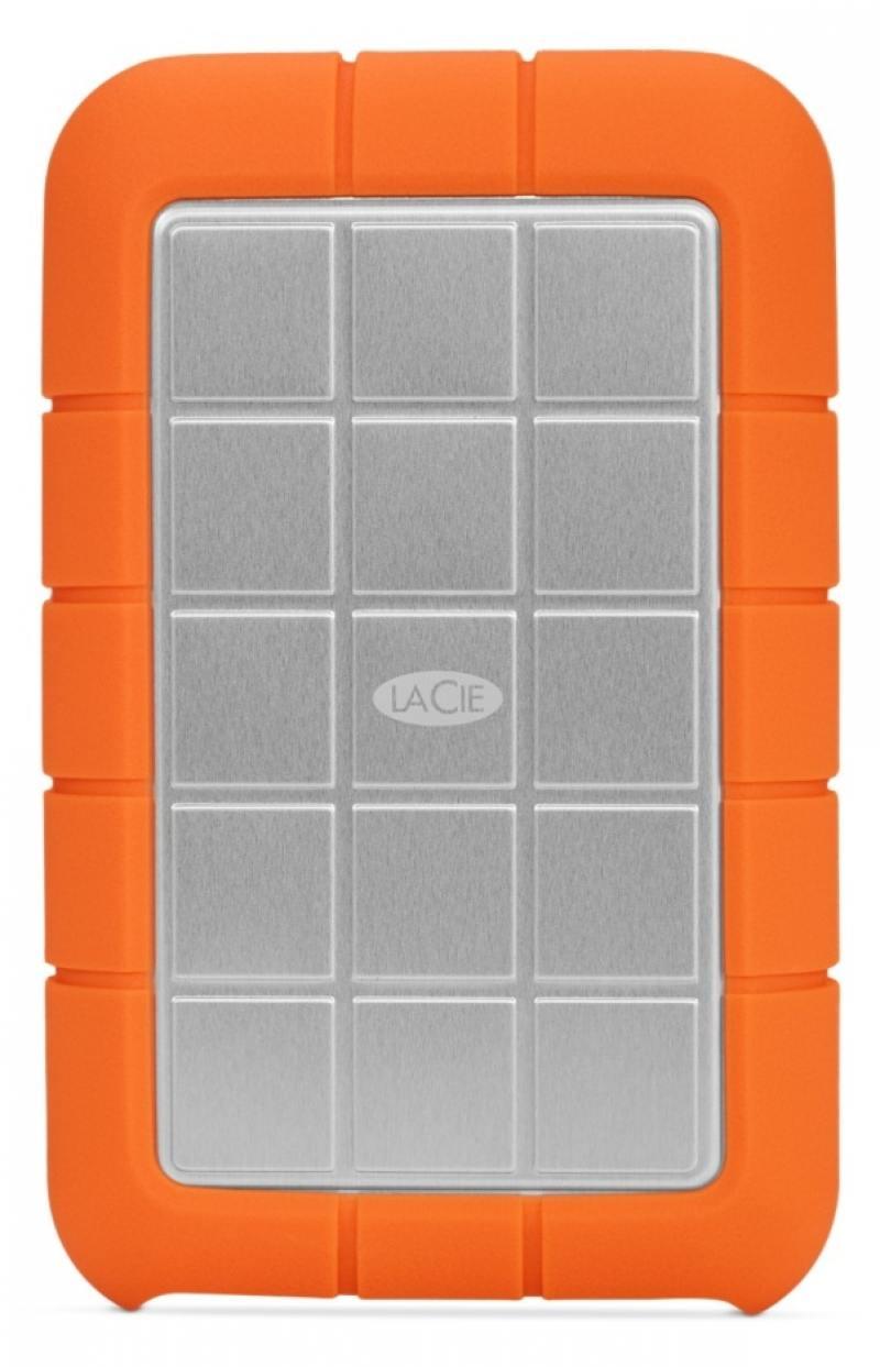 Внешний жесткий диск 2.5 USB3.0 2Tb Lacie Rugged Triple USB 3.0 9000448 оранжевый lacie rugged mini 2tb внешний жесткий диск
