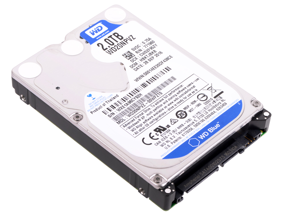 WD20NPVZ жесткий диск пк western digital wd20npvz 2tb wd20npvz