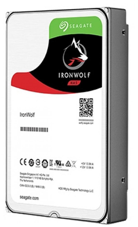 Жесткий диск 3.5 4Tb 5900rpm Seagate IronWolf SATAIII ST4000VN008 цена 2016