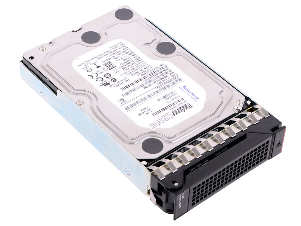 Жесткий диск Lenovo 4XB0F28712 1Tb SATA III/3.5/7200 rpm жесткий диск ultrastar hgst hus722t1tala604 1w10001 1tb sata iii 3 5 7200 rpm 128mb