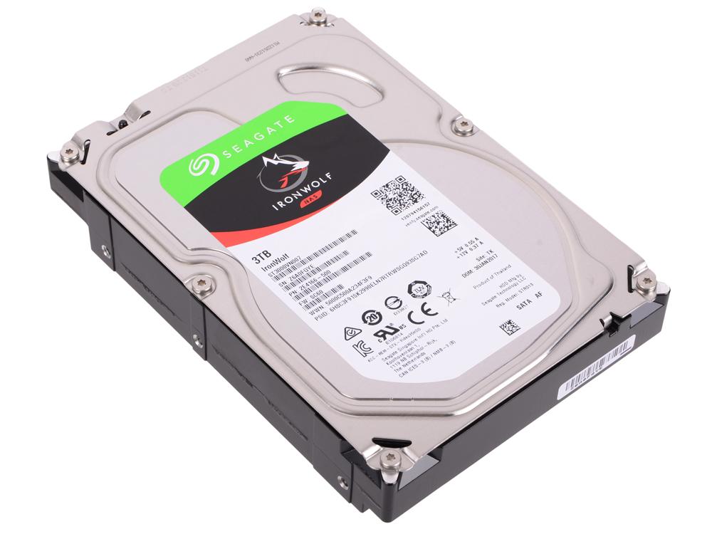 все цены на Жесткий диск Seagate Iron Wolf Guardian ST3000VN007 3Tb SATA III/3.5
