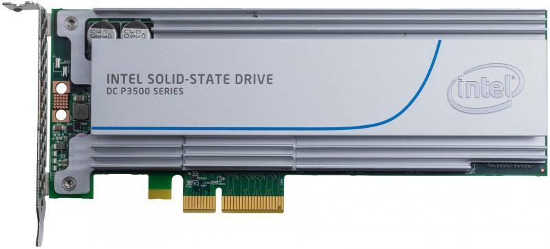 SSD Твердотельный накопитель PCI-E 2Tb Intel SSD P3500 Series Read 2700Mb/s Write 1800Mb/s SSDPEDMX твердотельный накопитель ssd 2 5 450gb intel ssd p3520 series read 1200mb s write 600mb s pci e ssdpe2mx450g701 948646