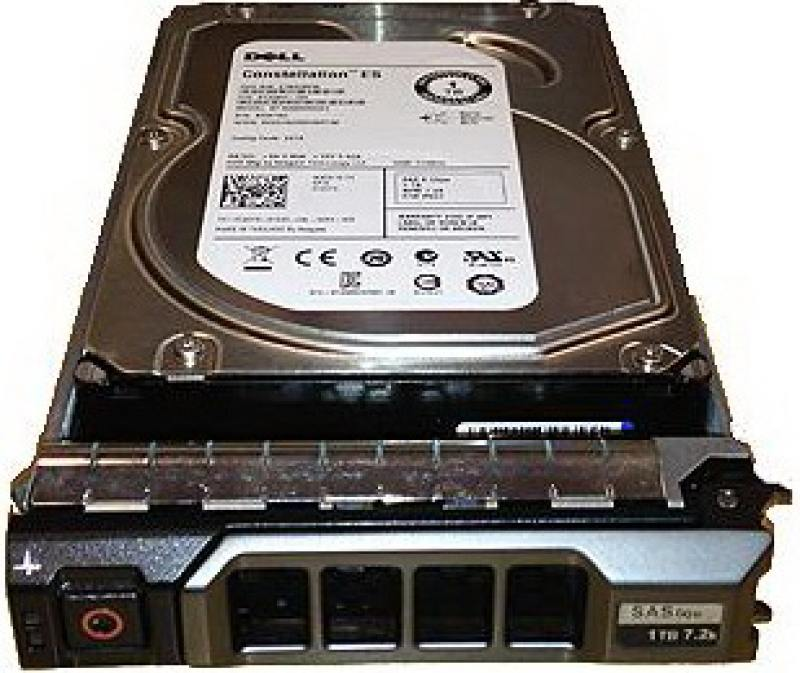Жесткий диск 3.5 1Tb 7200rpm Dell SAS 400-ALQZ жесткий диск 3 5 6tb 7200rpm dell sas 400 ajoe