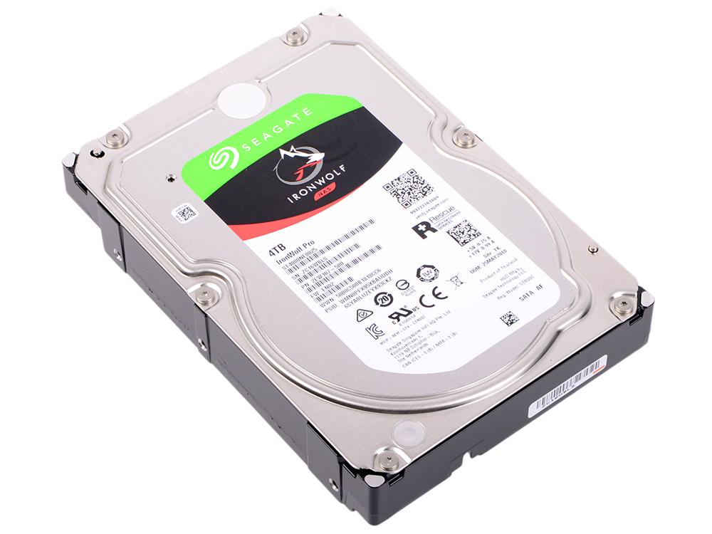 Жесткий диск 3.5 4Tb 7200rpm Seagate IronWolf Pro SATAIII ST4000NE0025 жесткий диск 3 5 8tb 7200rpm seagate ironwolf sataiii st8000vn0022