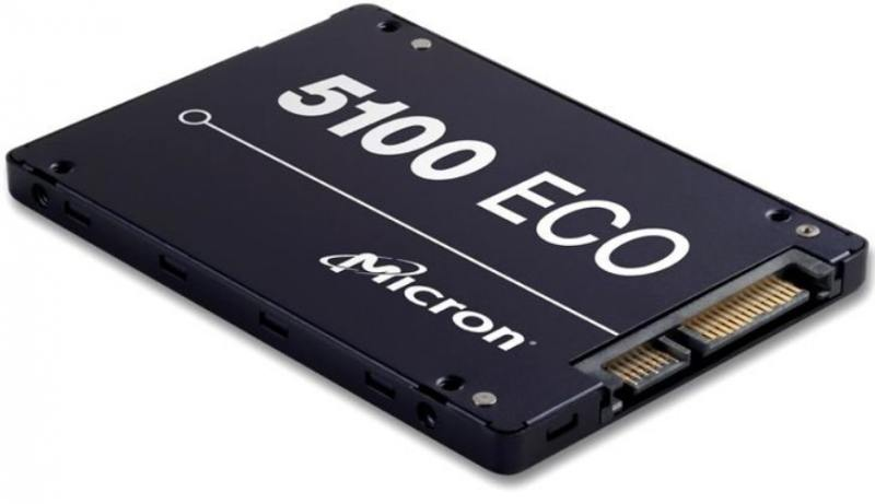 SSD Твердотельный накопитель 2.5 960Gb Crucial Micron 5100ECO Read 540Mb/s Write 520Mb/s SATAIII MT