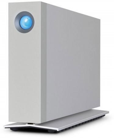 Внешний жесткий диск 3.5 USB3.1 6Tb Lacie d2 Thunderbolt3 STFY6000400 серебристый 3 5 usb3 0 4tb lacie porsche p9233 9000385