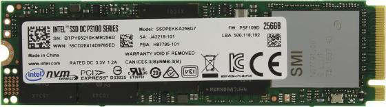 SSD Твердотельный накопитель M.2 256Gb Intel DC P3100 Series PCI-E SSDPEKKA256G701 953766 накопитель ssd intel original pci e 3200gb ssdpe2ke032t701 dc p4600 2 5 [ssdpe2ke032t701 954969]
