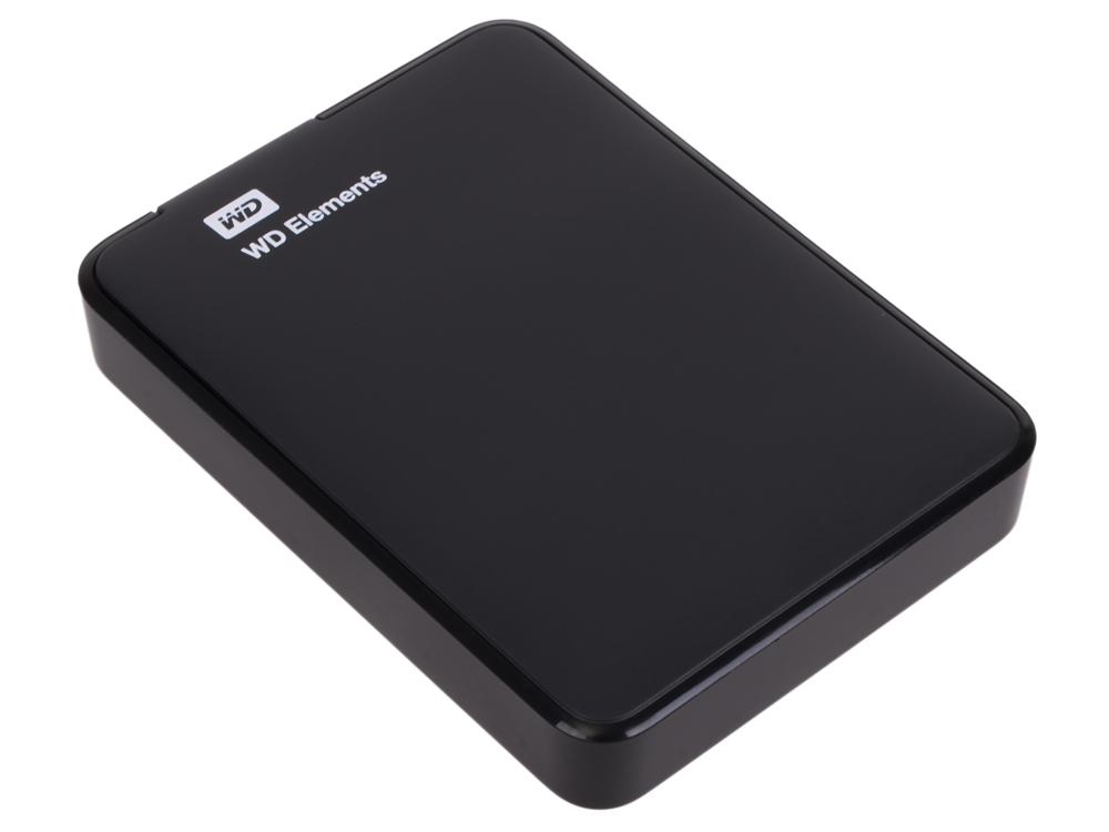 все цены на Внешний жесткий диск WD Elements Portable 2Tb Black (WDBU6Y0020BBK-WESN)