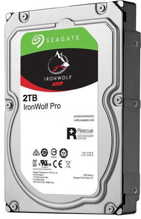 Жесткий диск Seagate IronWolf Pro ST2000NE0025 2Tb SATA III/3.5