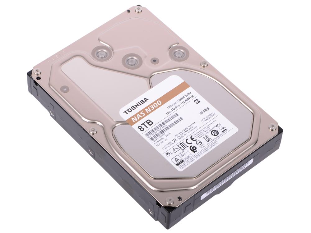 Жесткий диск Toshiba N300 HDWN180UZSVA 8TB SATA III/3.5