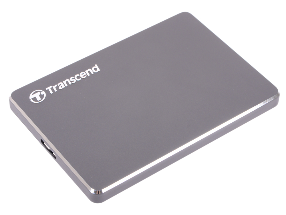 Внешний жесткий диск 2.5 USB3.0 1 Tb Transcend StoreJet 25 TS1TSJ25C3N серый внешний аккумулятор samsung eb pn930csrgru 10200mah серый