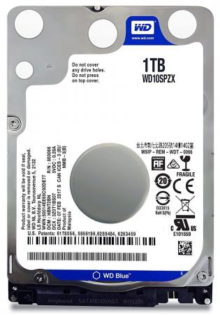 Жесткий диск для ноутбука 2.5 1Tb 5400rpm 16Mb cache Western Digital Blue SATAIII WD10SPZX 100pcs lot 2sa733 a733 to 92 triode transistor new original free shipping