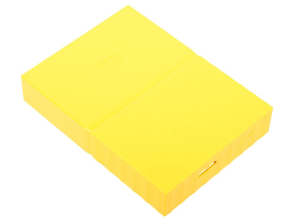 Внешний жесткий диск 2.5 USB3.0 3 Tb Western Digital My Passport Ultra WDBUAX0030BYL-EEUE желтый