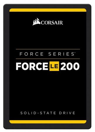 Твердотельный накопитель SSD Corsair Force 240 GB (CSSD-F240GBLE200B) SATAIII/2.5/R560/W560 чемодан большой l vip collection travel 808 pc 28 808 pc 28 d grey
