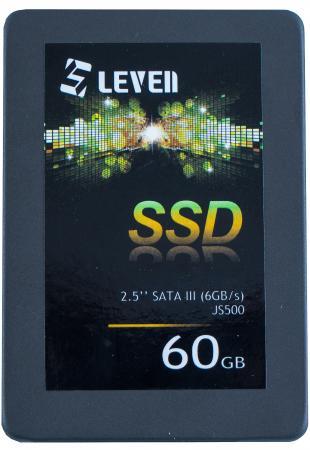 SSD накопитель Leven JS500 JS500SSD60GB 60Gb SATAIII/2.5 netac 60gb