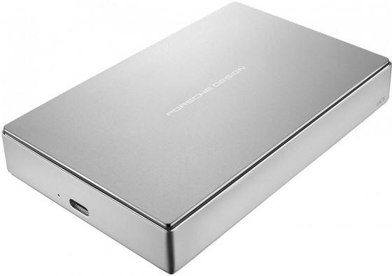 Внешний жесткий диск 2.5 USB Type-C 5Tb Lacie Porsche Design STFD5000400 серебристый внешний жесткий диск lacie stfd4000400 4тб porsche design stfd4000400