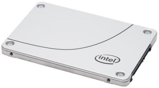Твердотельный накопитель SSD 2.5 480Gb Intel S4600 Read 500Mb/s Write 480Mb/s SATAIII SSDSC2KG480G7 твердотельный накопитель ssd 2 5 512gb plextor s2 read 520mb s write 480mb s sataiii px 512s2c