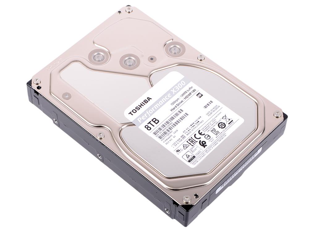 все цены на Жесткий диск Toshiba X300 HDWF180UZSVA 8 TB SATA III/3.5