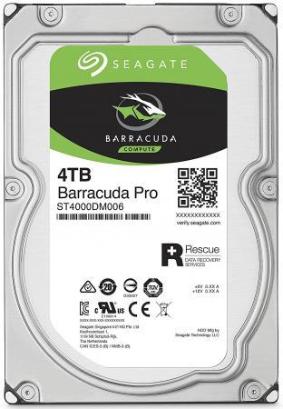 Жесткий диск 3.5 4Tb 7200rpm Seagate Barracuda Pro SATAIII ST4000DM006 фонарь armytek barracuda pro v2 xhp35 hi silver