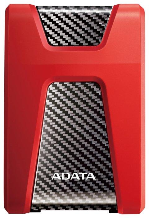 """Внешний жесткий диск 2Tb Adata HD650 AHD650 -2TU31-CRD красный (2.5"""" USB3.1)"""