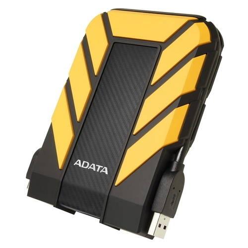 "Внешний жесткий диск 2Tb Adata HD710P AHD710P-2TU31-CYL желтый (2.5"" USB3.1)"