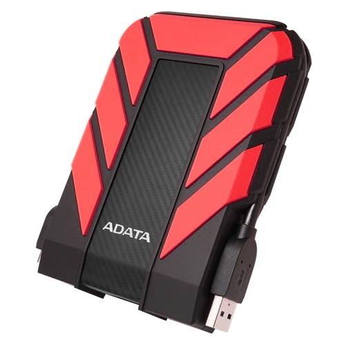 """Внешний жесткий диск 2Tb Adata HD710P AHD710P-2TU31-CRD черный/красный (2.5"""" USB3.0)"""