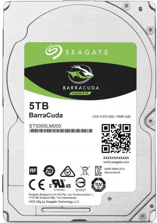 Жесткий диск для ноутбука 2.5 5Tb 5400rpm 128Mb cache Seagate Mobile Barracuda Guardian SATAIII ST5 17066 d 6 17066