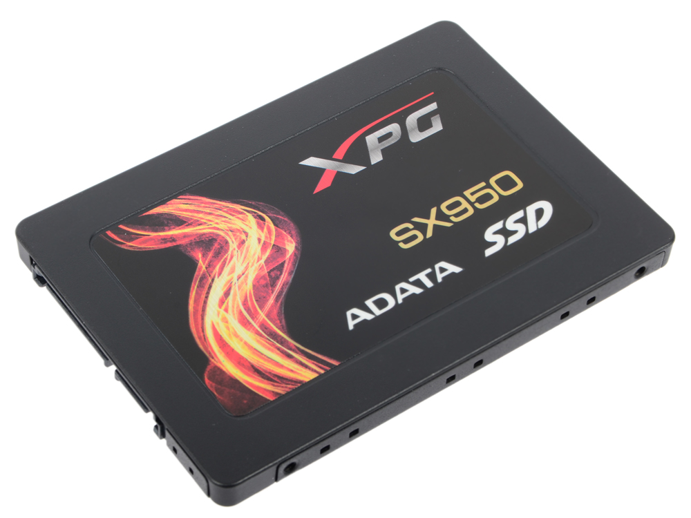 SSD накопитель A-Data SX950 ASX950SS-240 240GB SATA III/2.5 orico cpd 7p6g bw904s v1 serial sata 3 0 data cable sas cablewith locking latch 6 gbps 60cm ssd hard line