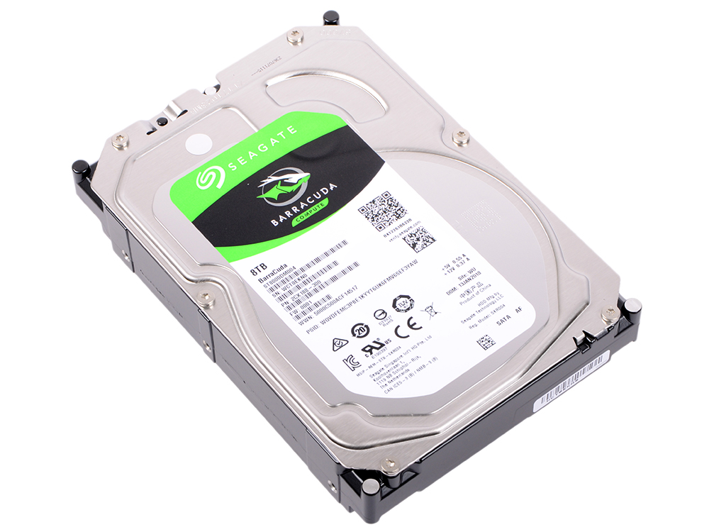 Жесткий диск Seagate Barracuda ST8000DM004 8Tb SATA III/3.5/7200 rpm/256MB