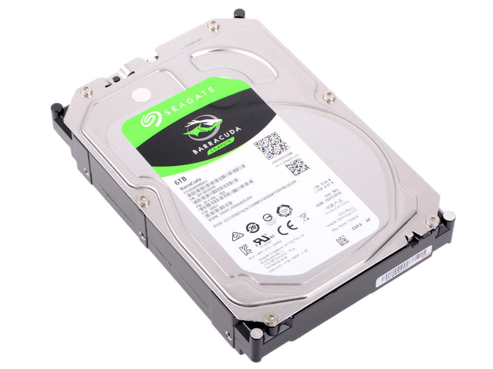 Жесткий диск Seagate Barracuda ST6000DM003 6Tb SATA III/3.5/5400 rpm/256MB