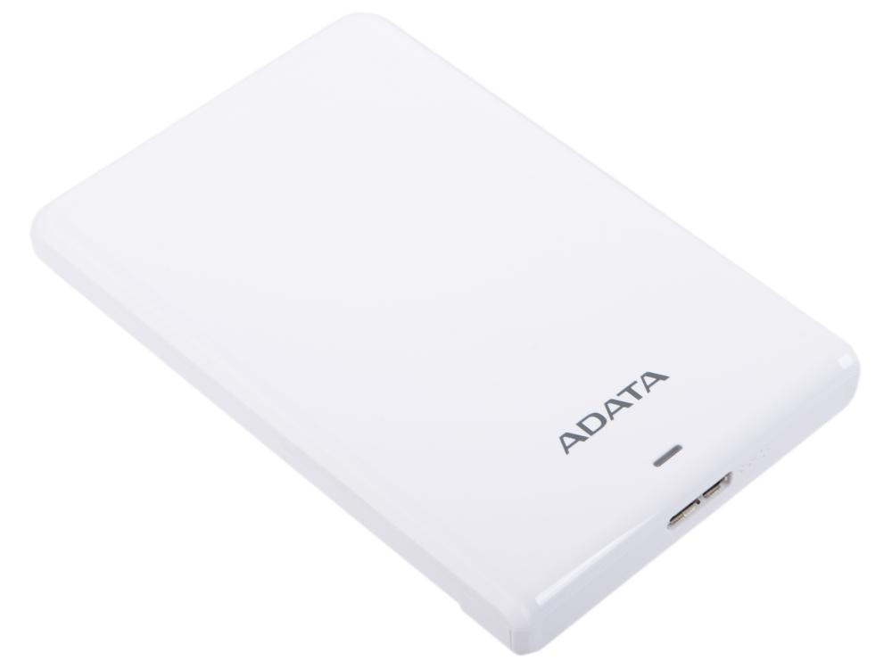 Внешний жесткий диск 2.5 USB3.0 1Tb Adata HV620S AHV620S-1TU3-CWH белый цена